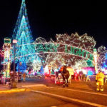 Rotary Lights Display at Riverside Park