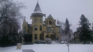 A Snowpocalypse at Castle La Crosse B&B