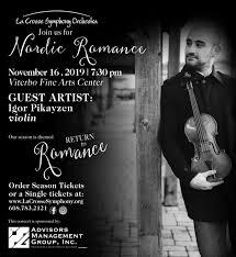 La Crosse Symphony- Nordic Romance