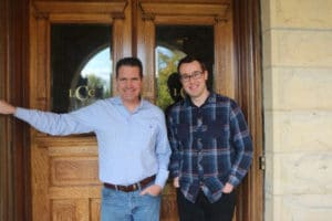 Billy and Brandon of Castle La Crosse Bed and Breakfast